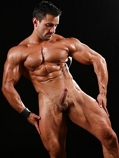 Hot latino bodybuilder naked