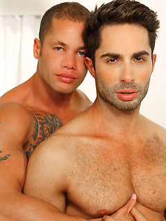 Michael Lucas and his horny friend like to fuck while they moan loudly