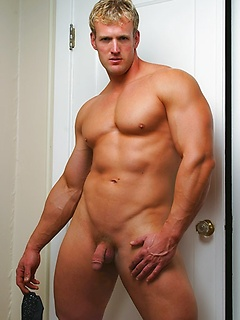 His thick and muscular body is utterly amazing in solo gay pictures