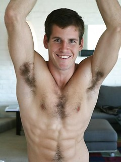 Very sexy jock with hairy and beefy body