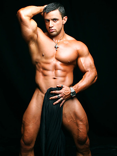 Nacho and Randy are two super hot muscle hunks that show off their ripped bodies
