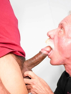 Two older and horny stallions suck each other's dicks before fucking like crazy