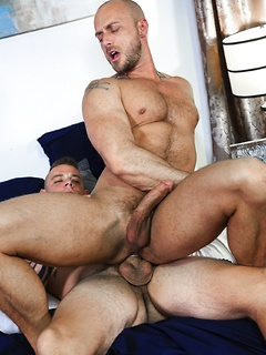 Horny Jessie Colter likes to suck a long dick before he gets his ass plowed