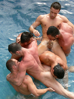 Gay orgy compilation with nothing but super hot guys with rock hard muscular bodies