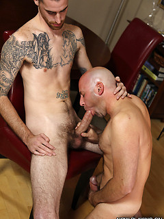 Daddies take dick in a compilation gallery with older men ass fucked by big cocks