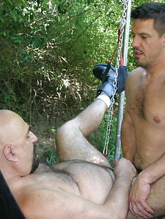 Horny gay guy has to blow a stiff shaft before he gets his butt penetrated