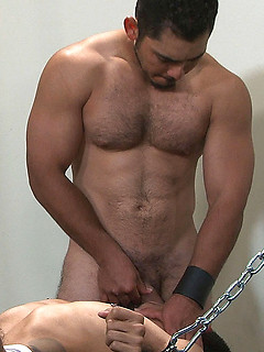 Armand Dragen gets tied up and fucked really hard by horny Miguel Temon