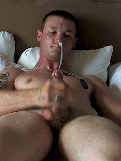 Amateur gay guys with hot cocks get naked and suck dick in bed before the anal fucking