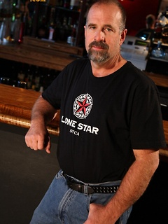 Hot bear, Clint Taylor is quite the man behind the bar