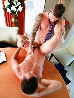 Cole Christiansen and Brenner Bolton simply adore fucking hard in the office
