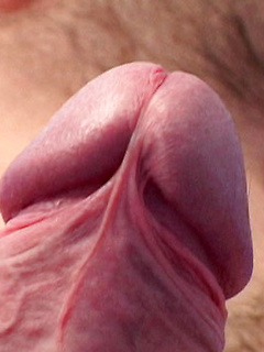 Extreme close up on his tight asshole as the cute guy fingers and fucks a dildo