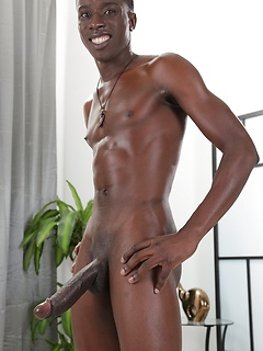 Black gay guy with a huge dick fucks a skinny white cocksucker in the ass