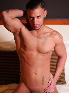 Spanish studs are naked and horny for each other in a beautiful ass fucking gallery