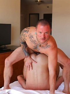 Max Cameron and his horny friend like to bang each other's tight butts