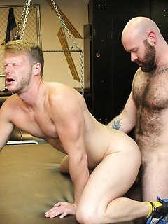 Luke Harrington and Brian Bonds get to penetrate each other's tight bungholes